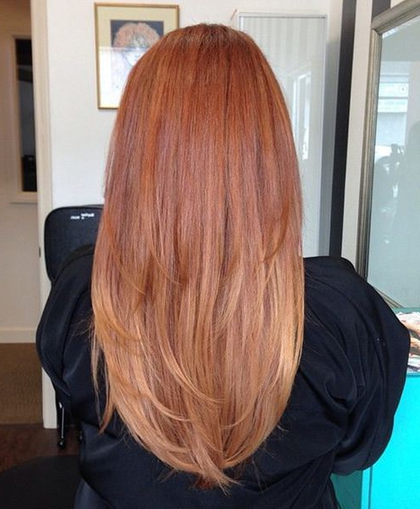 Long Layered Hairstyles From The Back View   Hairstyles With Long Hairstyles Front And Back View (View 19 of 25)