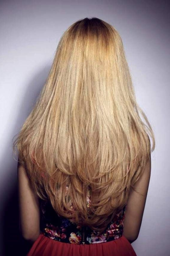 Long Layered Straight Haircuts Back View | Haircuts Ideas | Long Throughout Long Hairstyles Layers Back View (View 9 of 25)