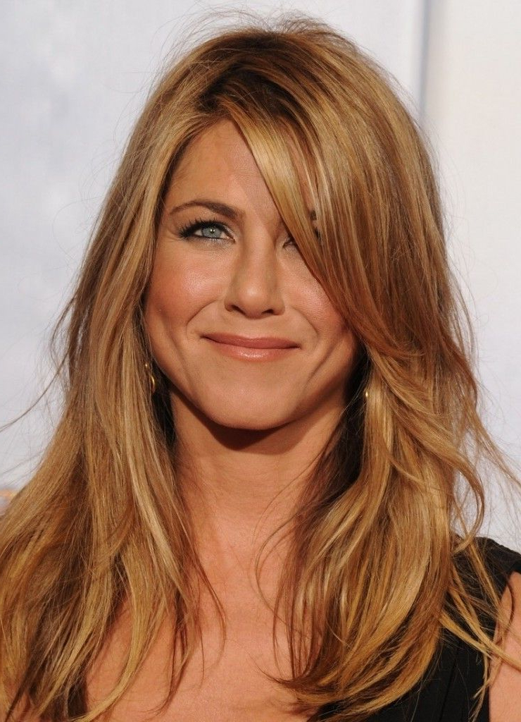 Long Layers Around Face | Hairstyles | Hair, Jennifer Aniston Hair With Regard To Long Hairstyles Layered Around Face (View 6 of 25)