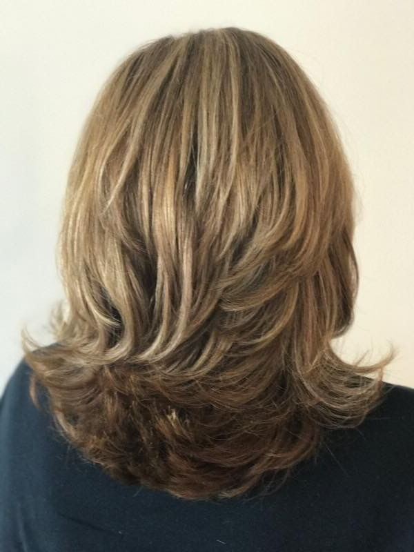Featured Photo of Layered With A Flip For Long Hairstyles