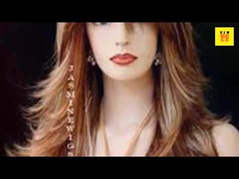 Long Layers With Side Bangs Hairstyle For Round Face Women – Youtube With Regard To Long Hairstyles With Bangs And Layers For Round Faces (View 16 of 25)