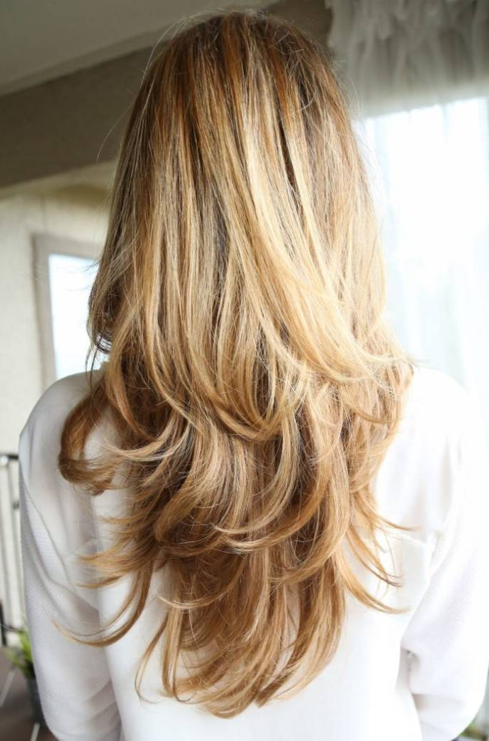 Long Light Brown Hair With Blonde Highlights Best Top Highlights In Highlights For Long Hair (View 25 of 25)
