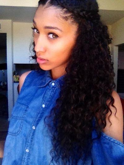 Long Naturally Curly Hair | Beautiful Naturally Curly Hair | Curly With Long Hairstyles For Naturally Curly Hair (View 8 of 25)
