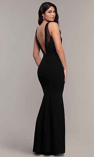 Long Prom Dresses And Formal Prom Gowns – Promgirl With Princess Like Side Prom Downdos (View 6 of 25)