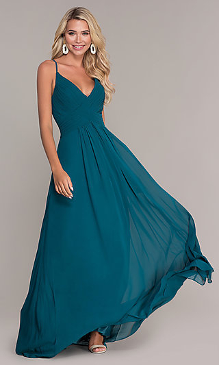 Long Prom Dresses And Formal Prom Gowns – Promgirl With Princess Like Side Prom Downdos (View 15 of 25)