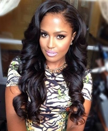 Featured Photo of Long Hairstyles Quick Weave
