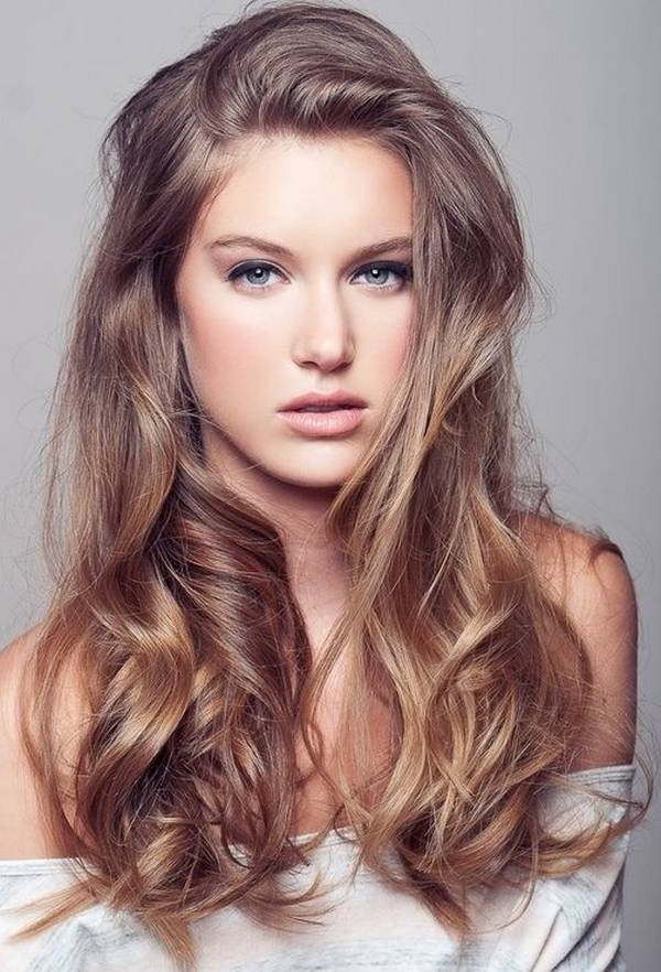 Long Round Faces (16) – Glamorous Hairstyles Intended For Long Hairstyles Round Faces (View 15 of 25)