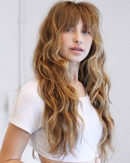 Long Shag Haircuts: 36 Examples For 2019 For Long Shaggy Layers (View 17 of 25)