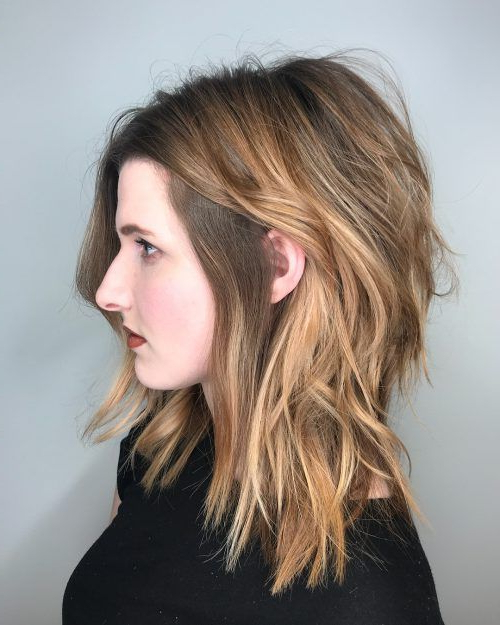 Long Shag Haircuts: 36 Examples For 2019 | Long Shag Haircuts | Long Intended For Long Brown Shag Hairstyles With Blonde Highlights (View 1 of 25)