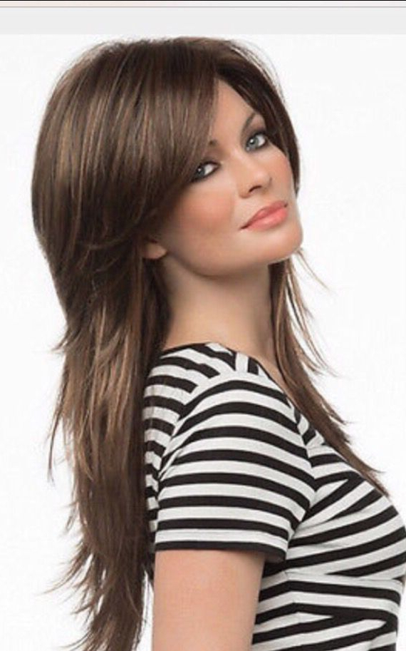 Long Shag Hairstyle | Hair | Cabello Largo En Capas, Cabello, Cortes With Long Layered Shaggy Hairstyles (View 6 of 25)
