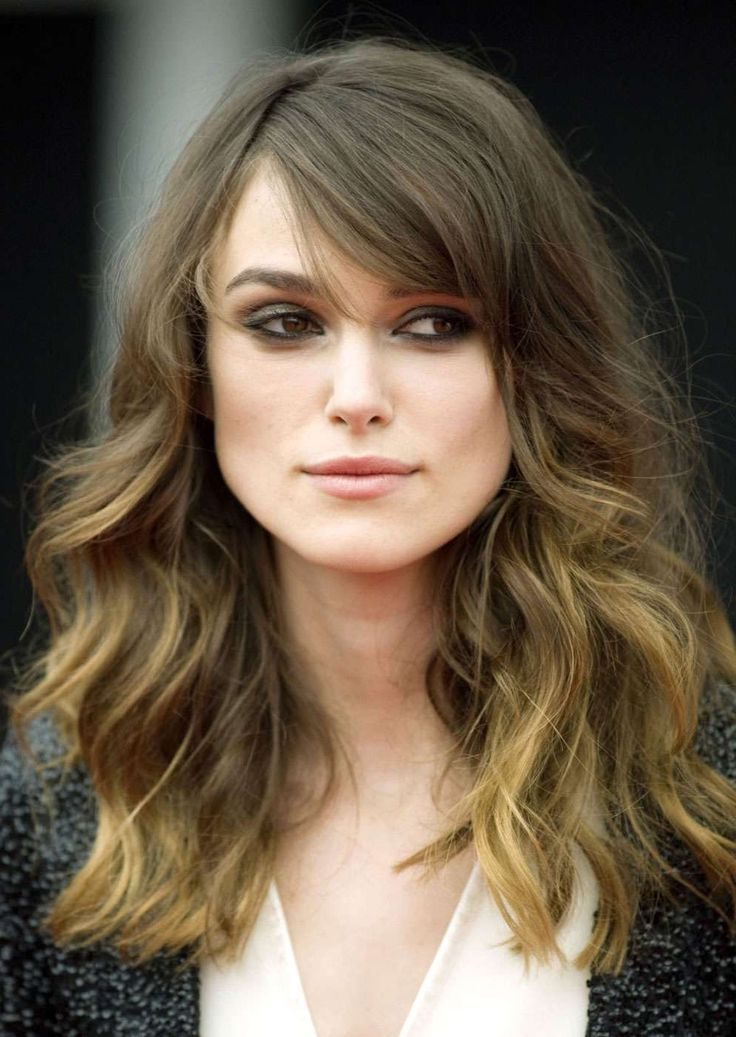 Long Wavy Hair With Bangs On Square Face – Google Search   Hair Inside Square Face Long Hairstyles (View 4 of 25)