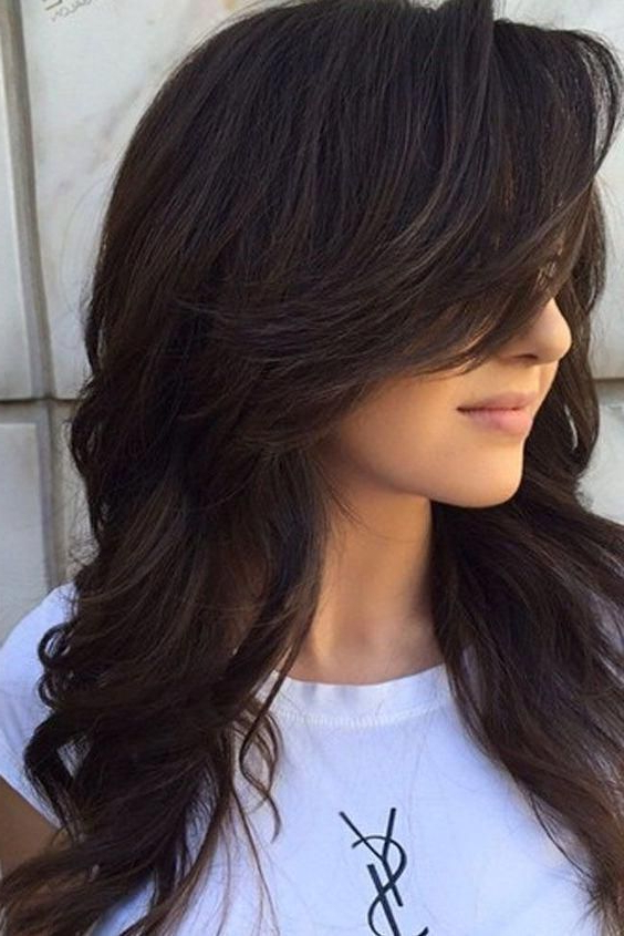 Longhair #hairstyles #layeredhairstyles 70S Hairstyles Teen Within Ponytail Layered Long Hairstyles (View 20 of 25)