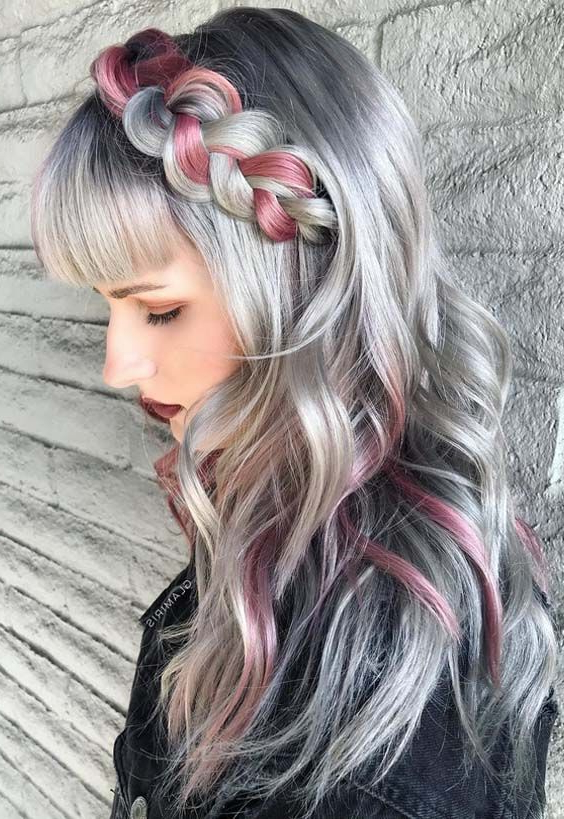 Looking For Unique Hair Color Trends For Long Hair For 2018? Browse With Long Hairstyles Unique (View 18 of 25)