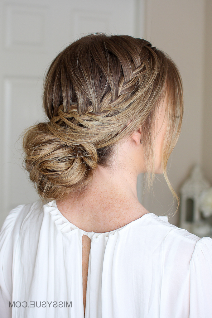 Featured Photo of Looped Low Bun Hairstyles