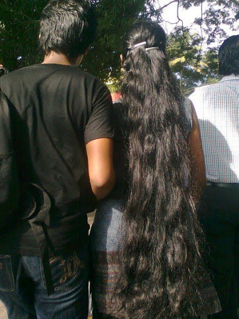 Loose Open Long Hair Styleskerala Women | Heartkiller143 | Flickr Intended For Long Hairstyles In Kerala (View 4 of 25)