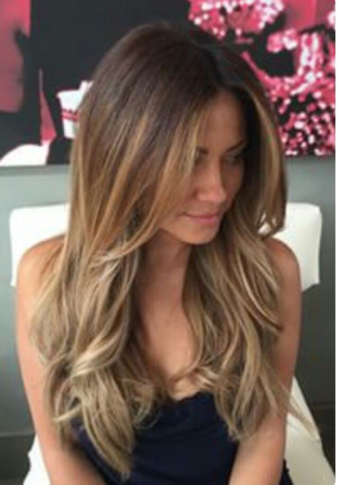 Love This Light Brown Color With Medium Blonde Highlights So Much Pertaining To Long Hairstyles And Highlights (View 5 of 25)