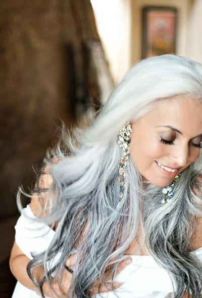 Love Your Gray Hair: Grey Is The New Blonde | Silver Hair Beauty For Long Hairstyles For Gray Hair (View 5 of 25)