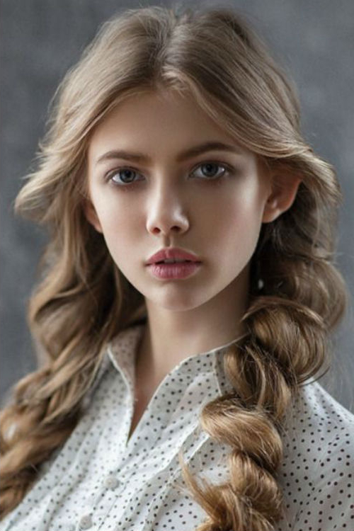 Magnificent Rolled Braided Long Hairstyles 2019 For Teenage Girls To Intended For Long Hairstyles For Girls (View 11 of 25)