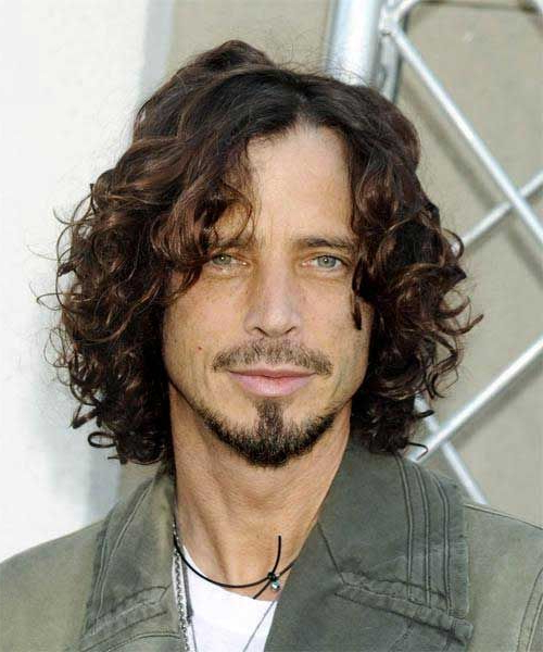 Male Celebrities With Curly Long Hairstyles | Hair | Chris Cornell Inside Long Hairstyles Celebrities (View 3 of 25)