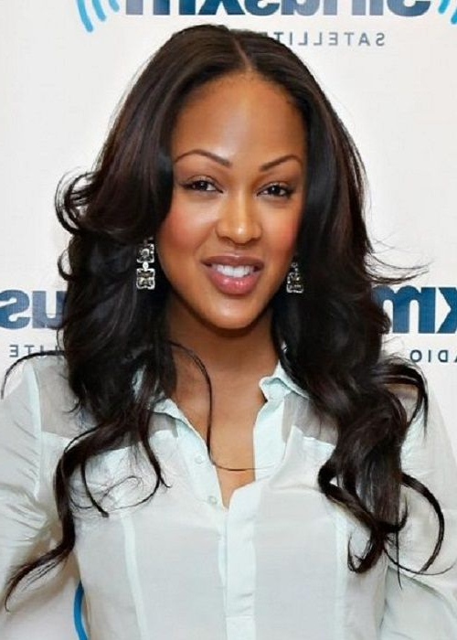 Meagan Good Franklin | Beauties | Long Hair Styles, Curly Hair Throughout Meagan Good Long Hairstyles (View 23 of 25)