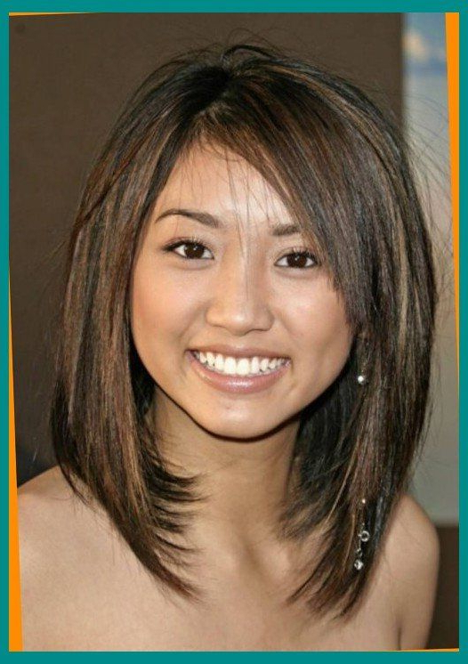Medium Length Haircuts For Round Faces And Thin Hair   Pleasant Intended For Long Hairstyles Thin Hair Round Face (View 4 of 25)