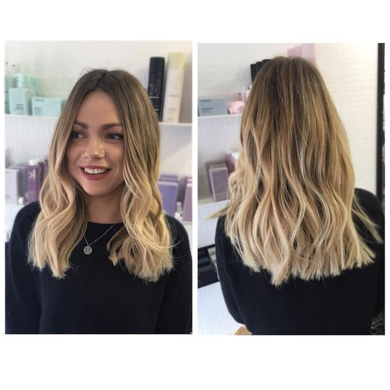 Medium Length Hairstyles For Thick Hair (Trending In June 2019) Regarding Medium To Long Haircuts For Thick Hair (View 18 of 25)