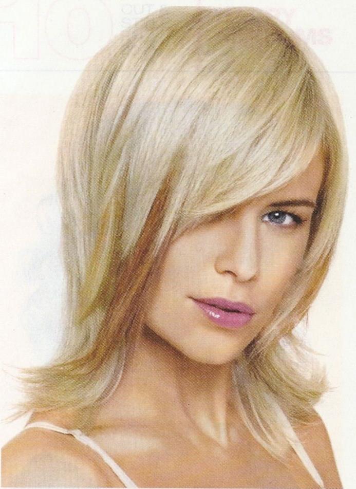 Medium Length Razor Layers | Sassy Long Length Layered Shag Haircut Inside Sassy Long Haircuts (View 8 of 25)