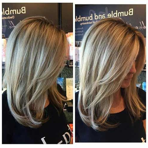 Medium Long Haircuts 13 | Medium Hair | Hair Cuts, 50 Hair, Hair Lengths With Regard To Medium Long Hairstyles With Layers (View 25 of 25)