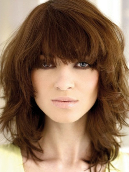 Medium Shag Hairstyles For Women For Medium Long Shaggy Hairstyles (View 15 of 25)