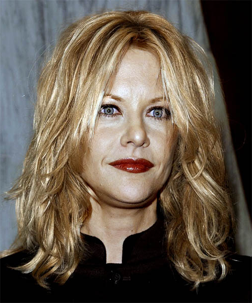 Meg Ryan Casual Long Wavy Hairstyle For Meg Ryan Long Hairstyles (View 25 of 25)