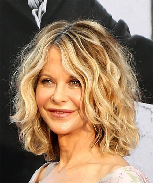 Featured Photo of Meg Ryan Long Hairstyles