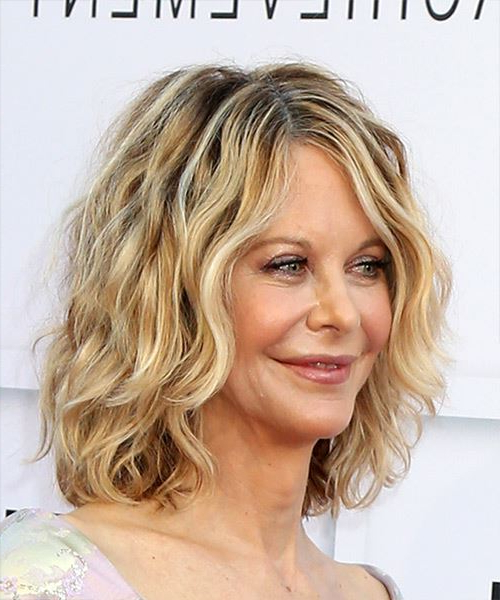 Meg Ryan Hairstyles, Hair Cuts And Colors Pertaining To Meg Ryan Long Hairstyles (View 14 of 25)