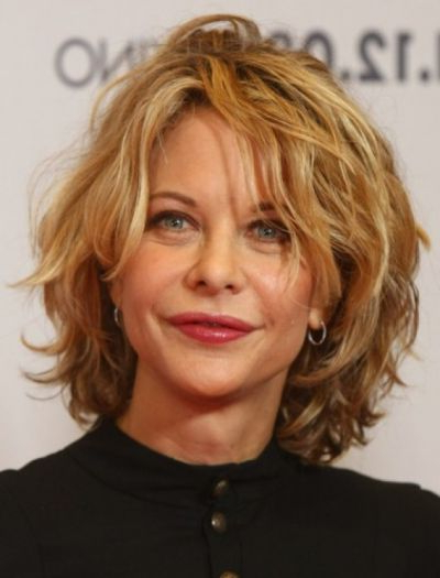Meg Ryan Layered Hairstyle – Casual, Party – Careforhair.co (View 17 of 25)