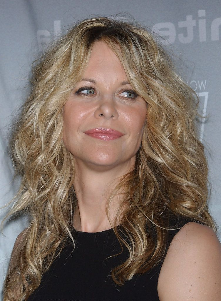 Meg Ryan Long Curls In 2019 | Hairstyles | Meg Ryan Hairstyles, Hair Throughout Meg Ryan Long Hairstyles (View 4 of 25)