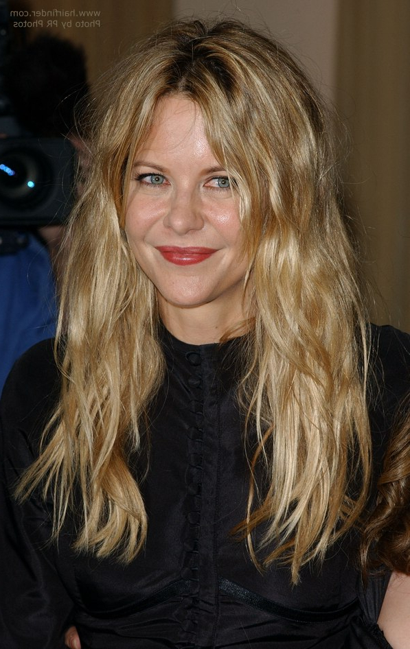 Meg Ryan's Natural Look For Long Hair Within Meg Ryan Long Hairstyles (View 10 of 25)