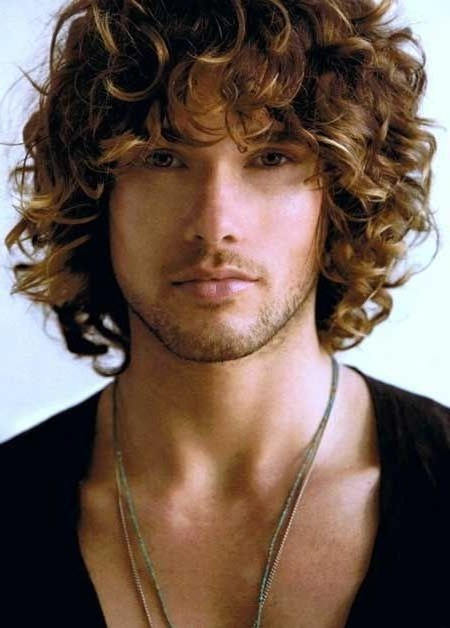 Mens Hairstyles : 1000 Ideas About Men Curly On Pinterest Haircuts For Long Curly Haircuts For Men (View 17 of 25)