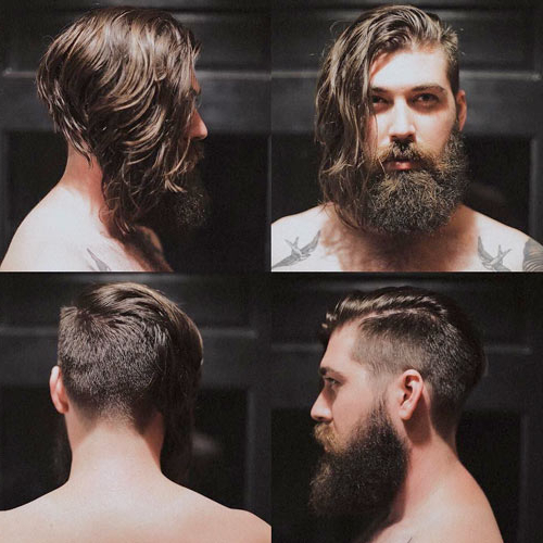 Mens Long Hair With An Undercut Throughout Long Hairstyles Undercut (View 19 of 25)