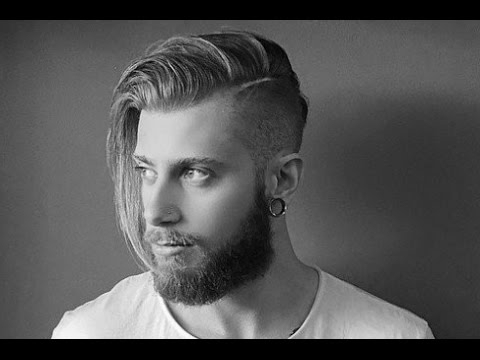 Men's Long Undercut Hairstyle – Youtube Intended For Long Hairstyles Undercut (View 2 of 25)