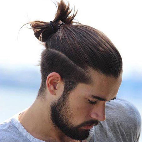 Men's Top Knot Hairstyles | Men's Hairstyles + Haircuts 2019 Pertaining To Long Hairstyles Knot (View 10 of 25)