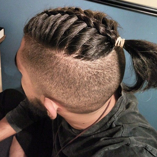Men's Top Knot Hairstyles | Men's Hairstyles + Haircuts 2019 Pertaining To Long Hairstyles Knot (View 4 of 25)