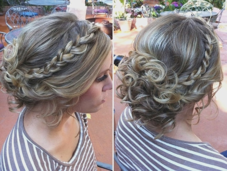 Messy Bun For Prom Hairstyle Intended For Messy Twisted Chignon Prom Hairstyles (View 20 of 25)