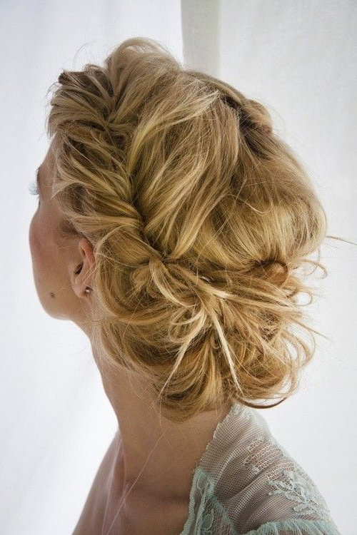 Messy Twist Buncute For When I Need My Hair Done For Events For Messy Twisted Chignon Prom Hairstyles (View 2 of 25)