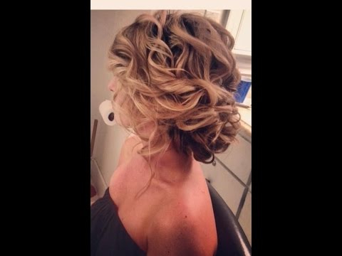 Messy Wedding Updo – Youtube Pertaining To Tousled Prom Updos For Long Hair (View 25 of 25)