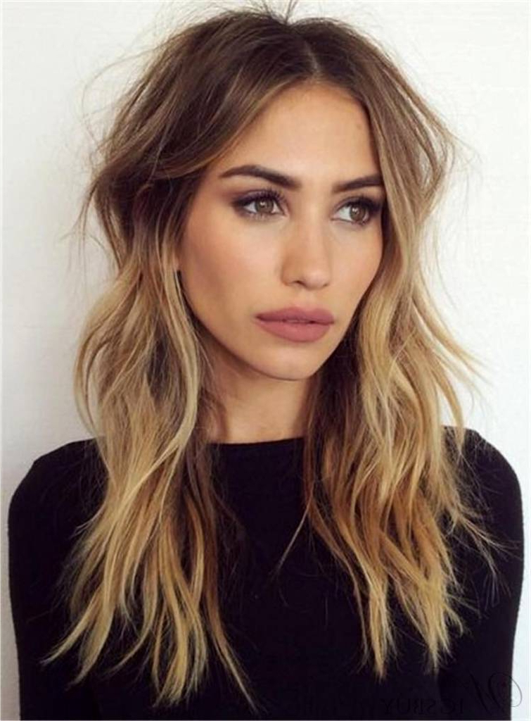 Middle Parting Hairstyles For Long Hair – Coolmanbunhaircut (View 8 of 25)