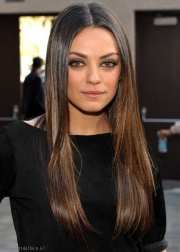 Featured Photo of Mila Kunis Long Hairstyles