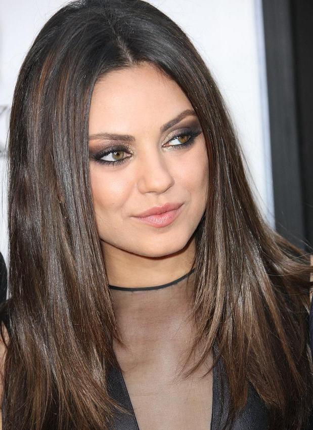 Mila Kunis Hairstyles Brand New Ideas   Trendy Hairstyles With Mila Kunis Long Hairstyles (View 17 of 25)