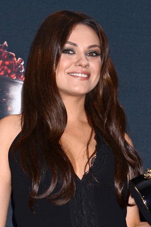 Mila Kunis Hairstyles & Hair Colors   Steal Her Style Regarding Mila Kunis Long Hairstyles (View 12 of 25)