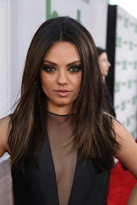 Mila Kunis Hairstyles | Hairstylo For Mila Kunis Long Hairstyles (View 4 of 25)