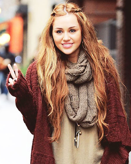 Miley Cyrus Long Hair | Best Hairstyles And Haircut Ideas With Regard To Miley Cyrus Long Hairstyles (View 23 of 25)