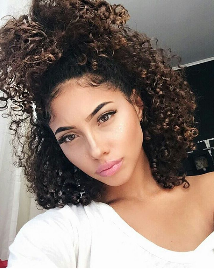 Miss Curly Queen | Feminine Beauty In 2019 | Curly Hair Styles in Long Hairstyles Naturally Curly Hair
